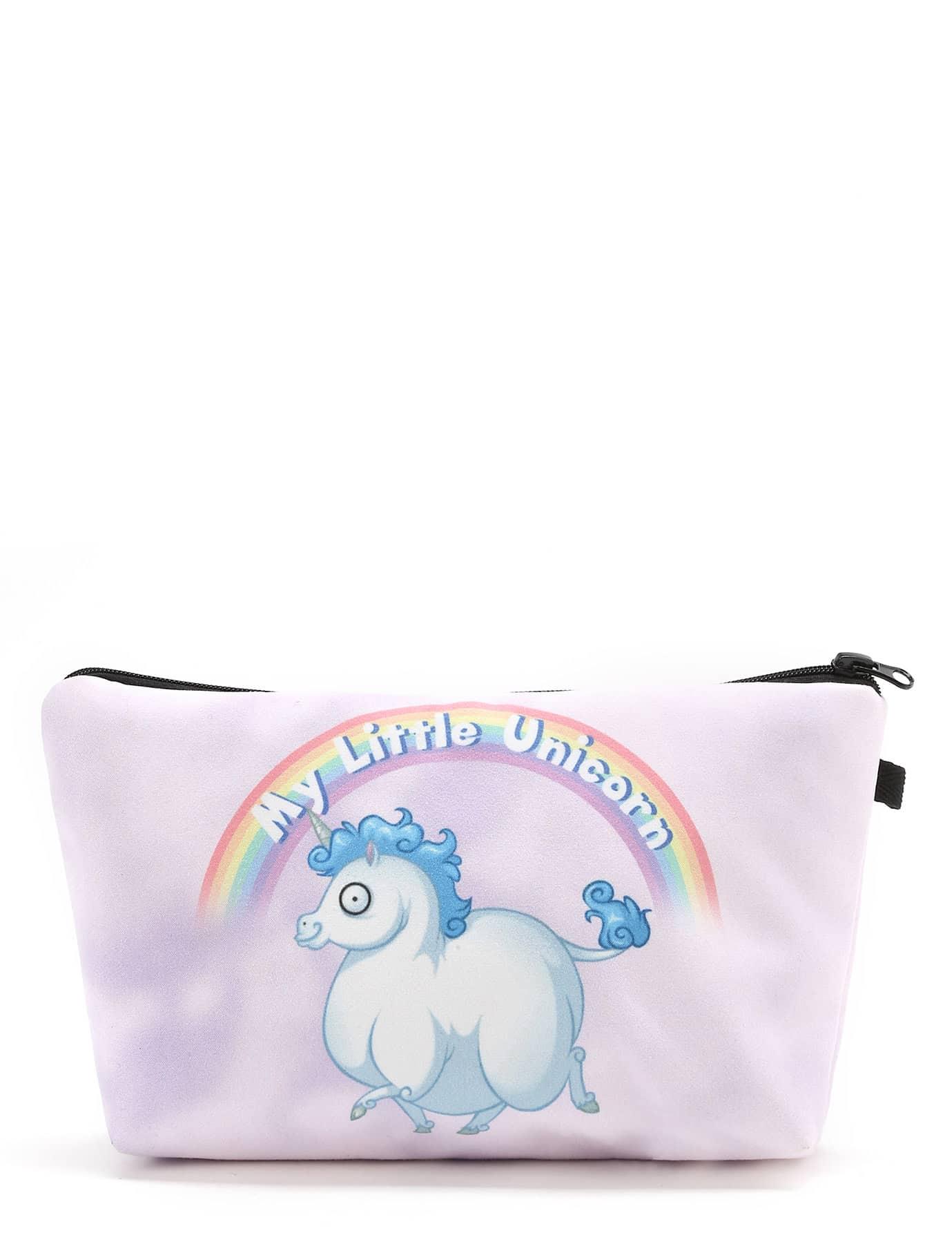 Animal Print Cute Makeup Bag