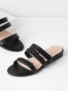 Sandales décontractée en PU