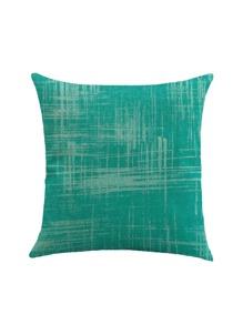 Copertura della cuscino della biancheria con stampa a strisce
