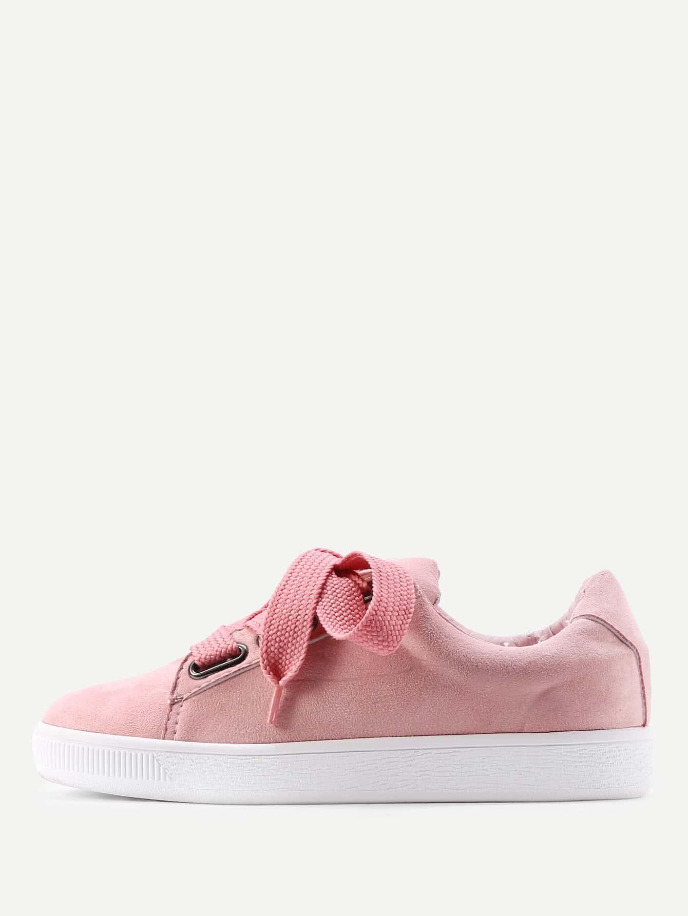 Фото Lace Up Low Top Sneakers. Купить с доставкой