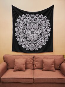 Mixed Flower Print Tapestry