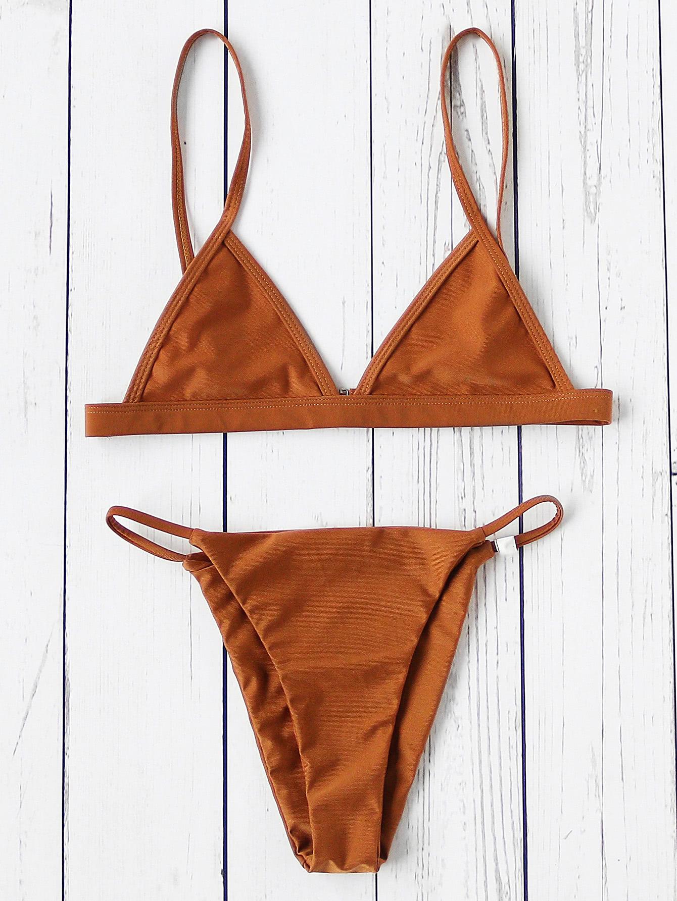 Фото Sexy Triangle Bikini Set. Купить с доставкой