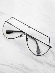 Triangle Cut Visor Glasses