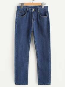 Jeans jambe droit