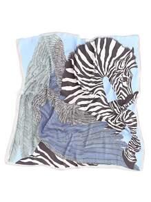 Bandana mit Zebramuster