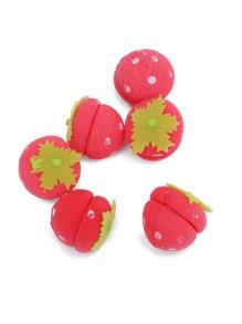 Rouleau en éponge en forme de fraise 6pièces