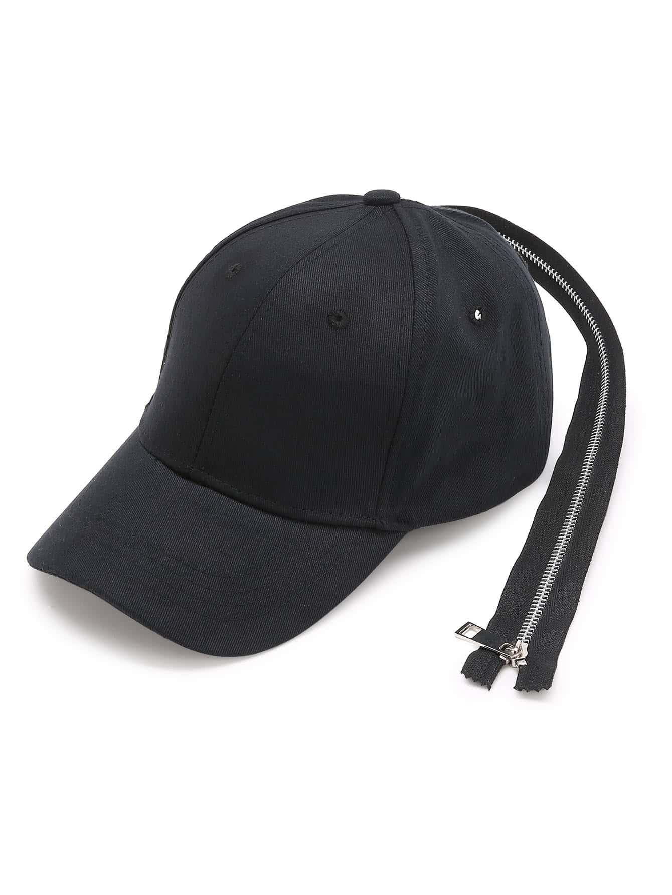 Фото Long Zipper Back Design Baseball Cap. Купить с доставкой