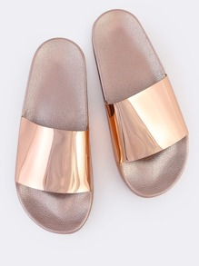 Metallic Slides ROSE GOLD