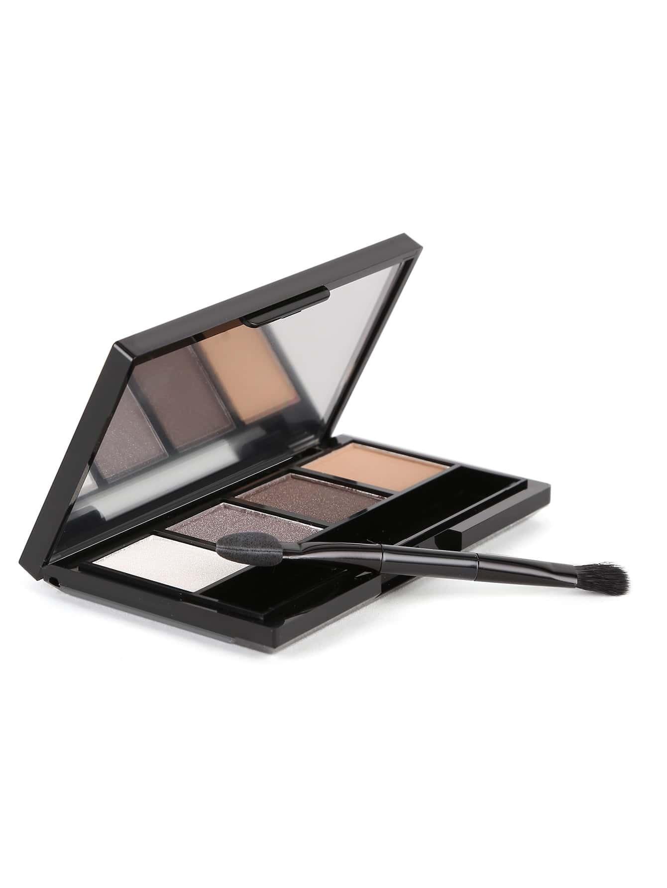 Фото Eyeshadow Quad With Brush. Купить с доставкой