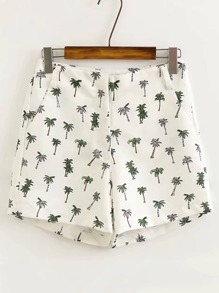 Shorts con estampado