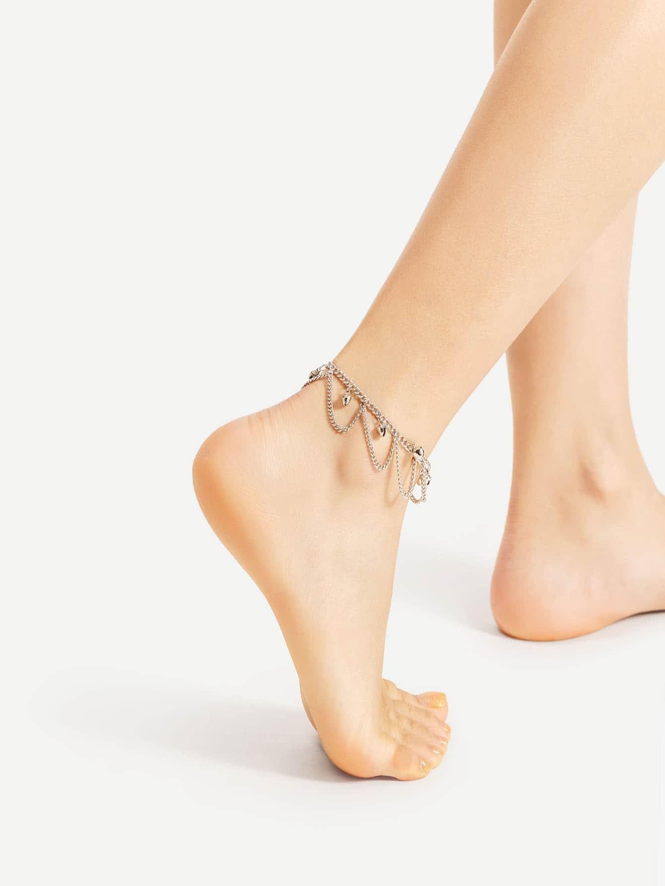 Image of Bells Chain Ankle Bracelet