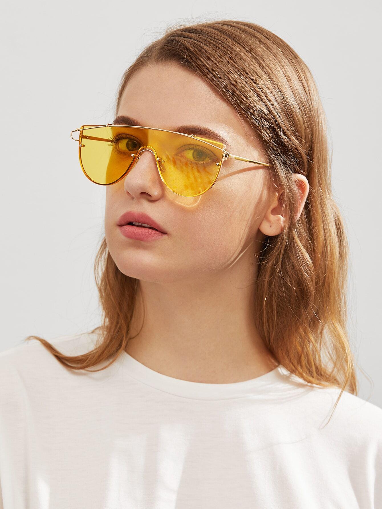 Top Bar Visor Sunglasses