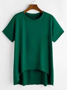 Модная асимметричная футболка