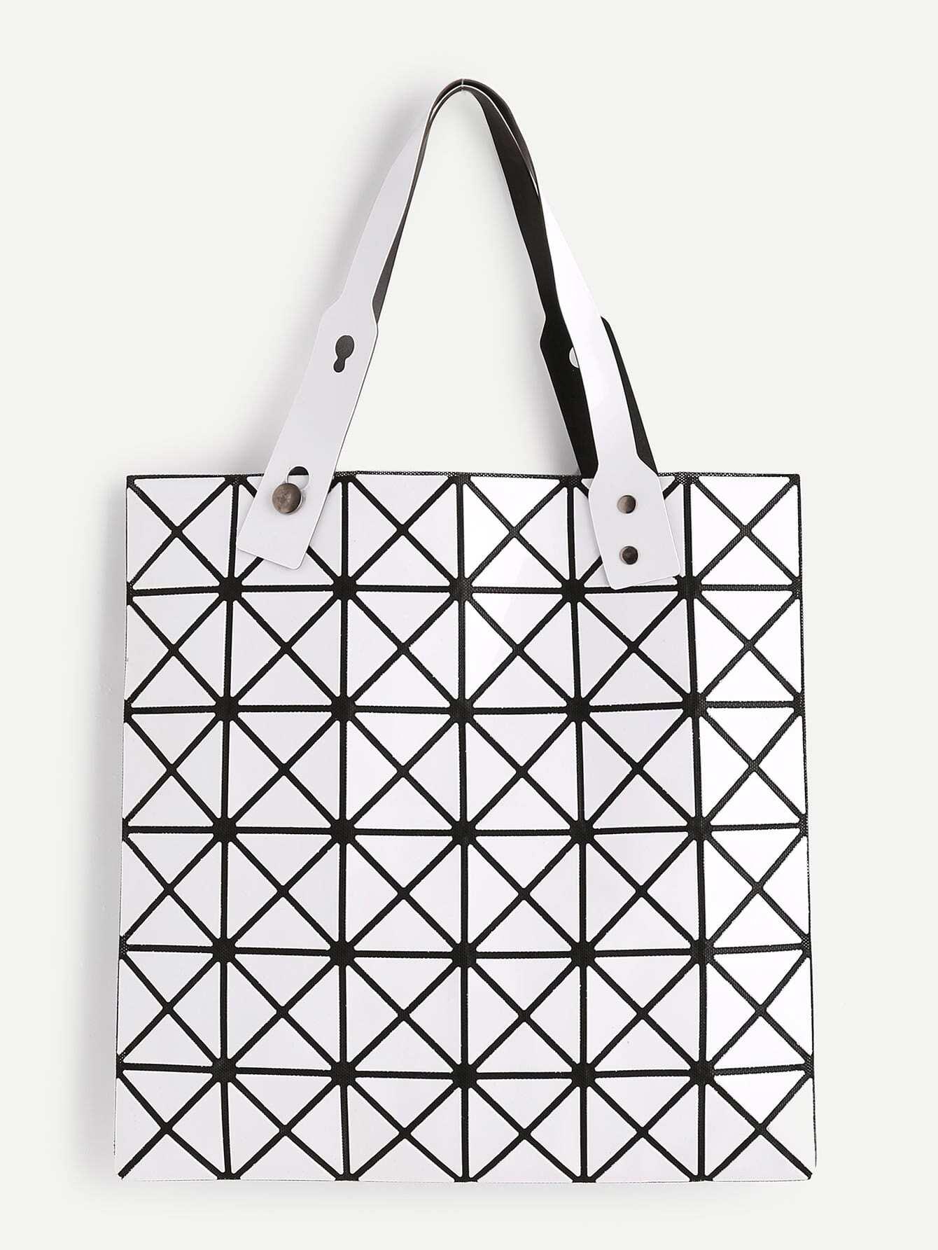 Фото Geometric Pattern Tote Bag. Купить с доставкой