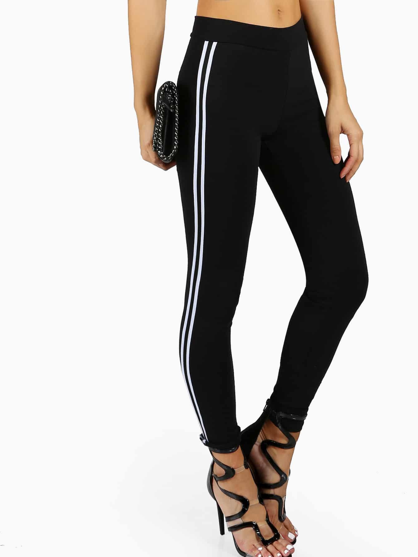 Side Striped Trainer Leggings