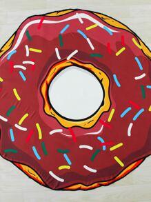 Manta playera en forma de rosquilla