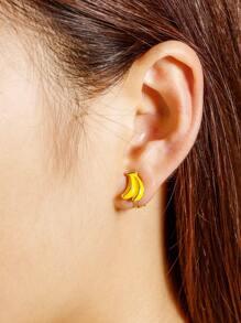Banana Shaped Ear Cuff 1pcs