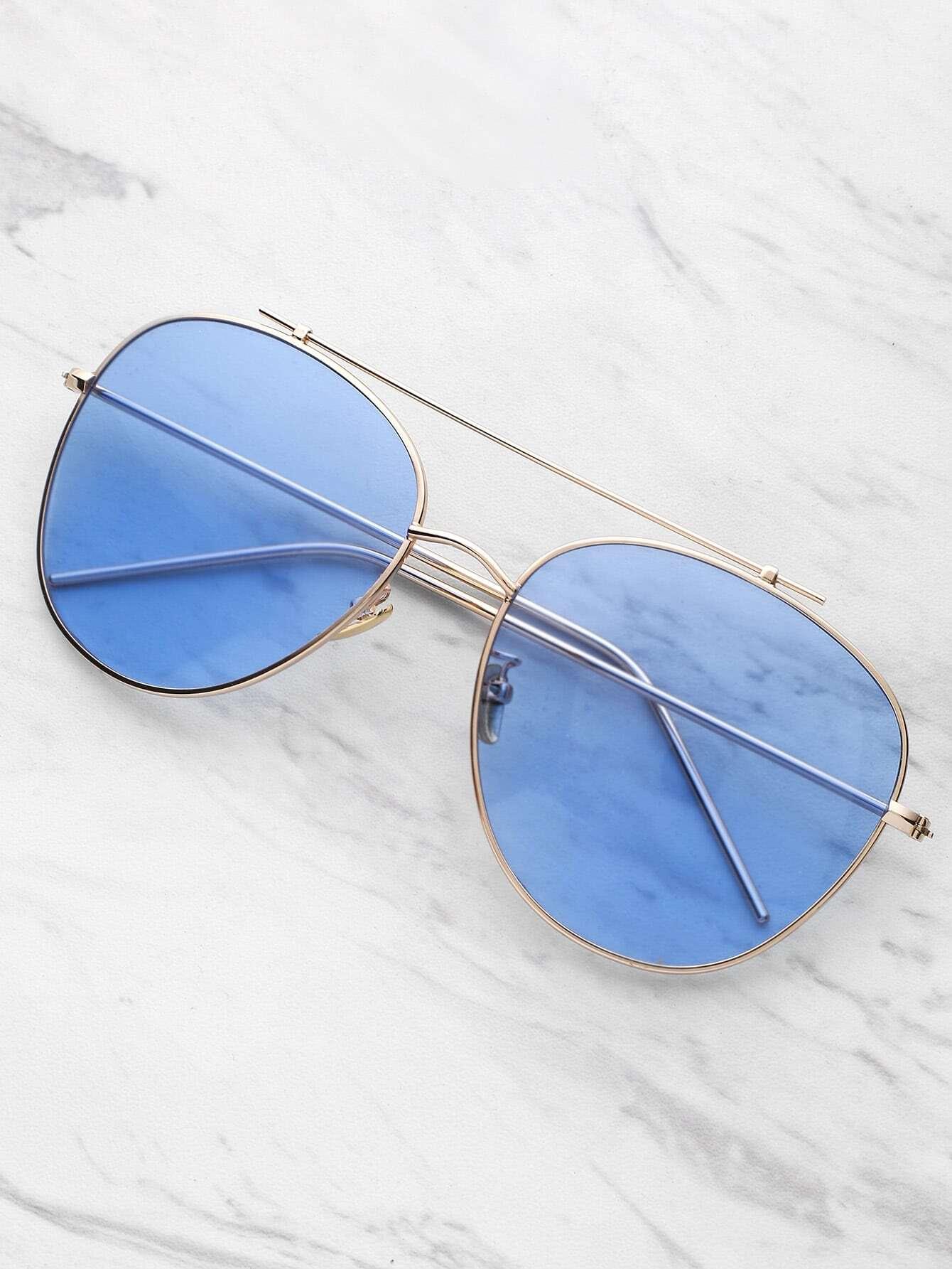 Фото Top Bar Aviator Sunglasses. Купить с доставкой