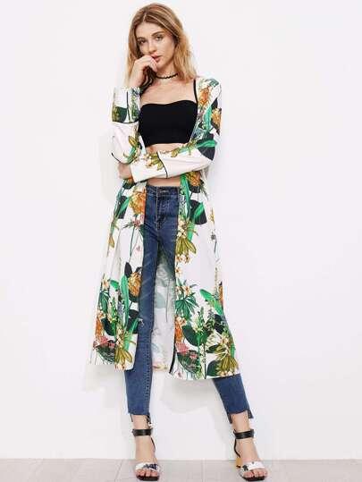 Open Front Longline Kimono