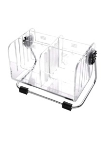 Transparent Cosmetic Organizer