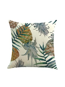 Multi Pineapple Print Pillowcase Cover