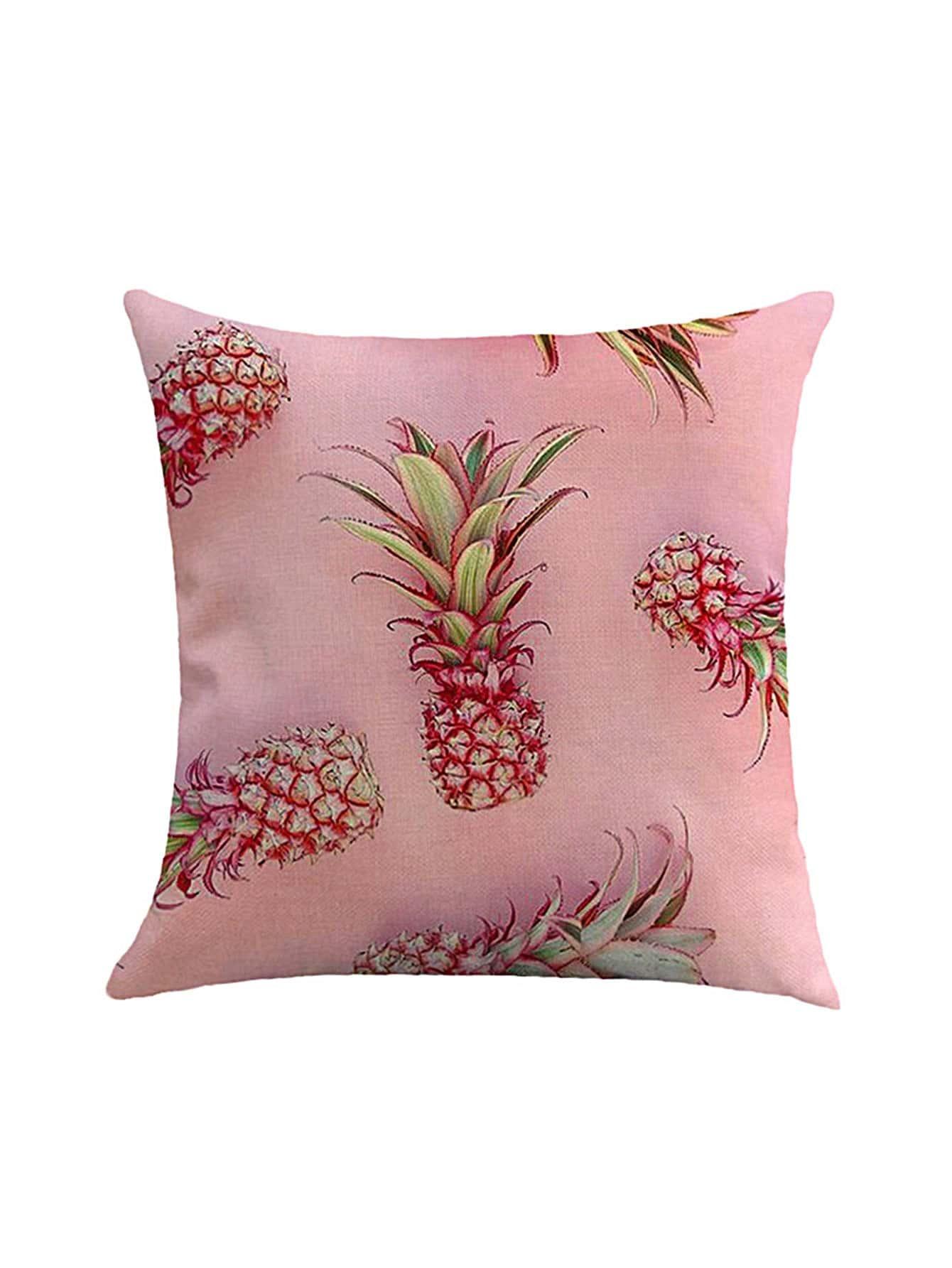 Фото Pineapple Print Pillowcase Cover. Купить с доставкой