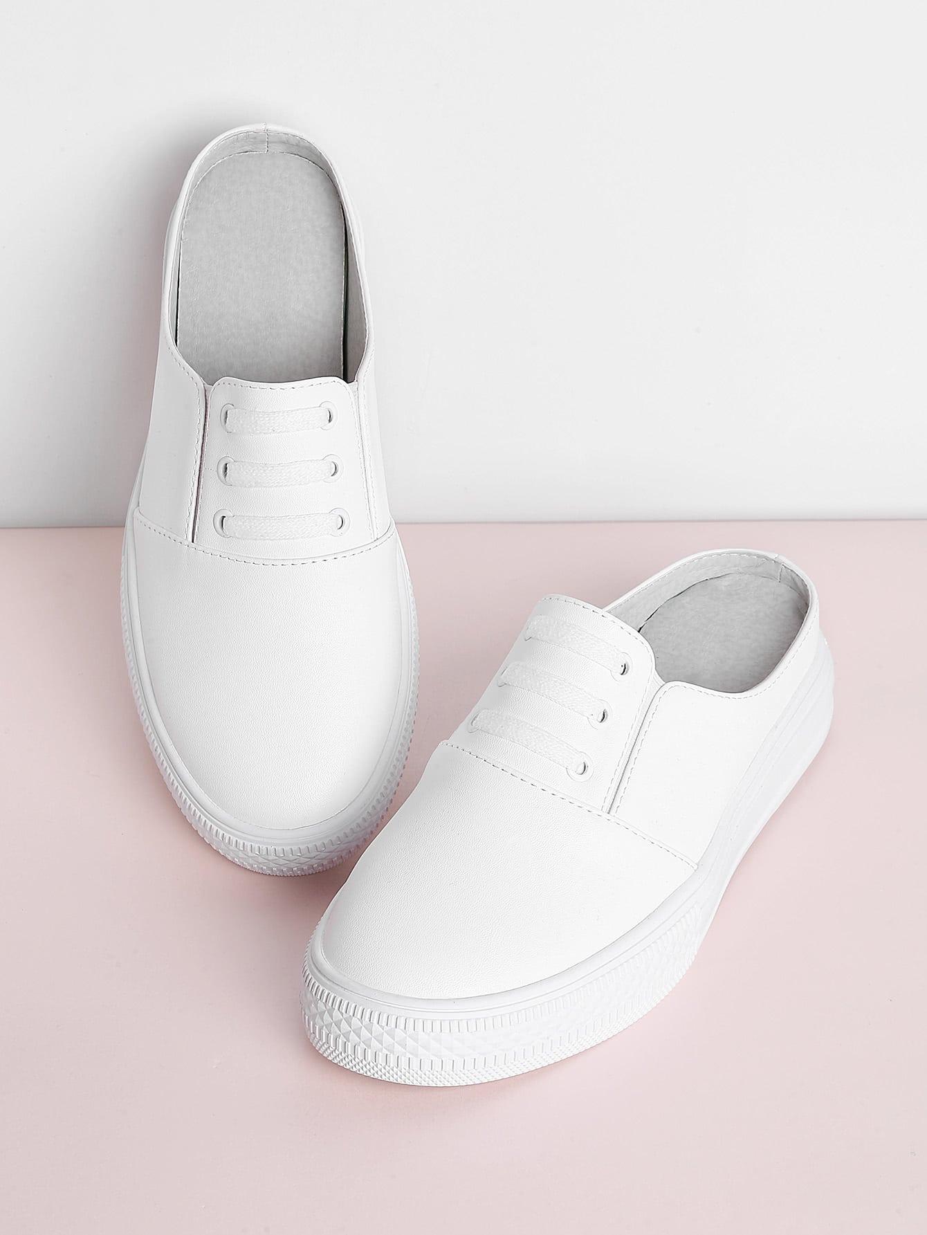 Фото PU Flatform Sneakers. Купить с доставкой