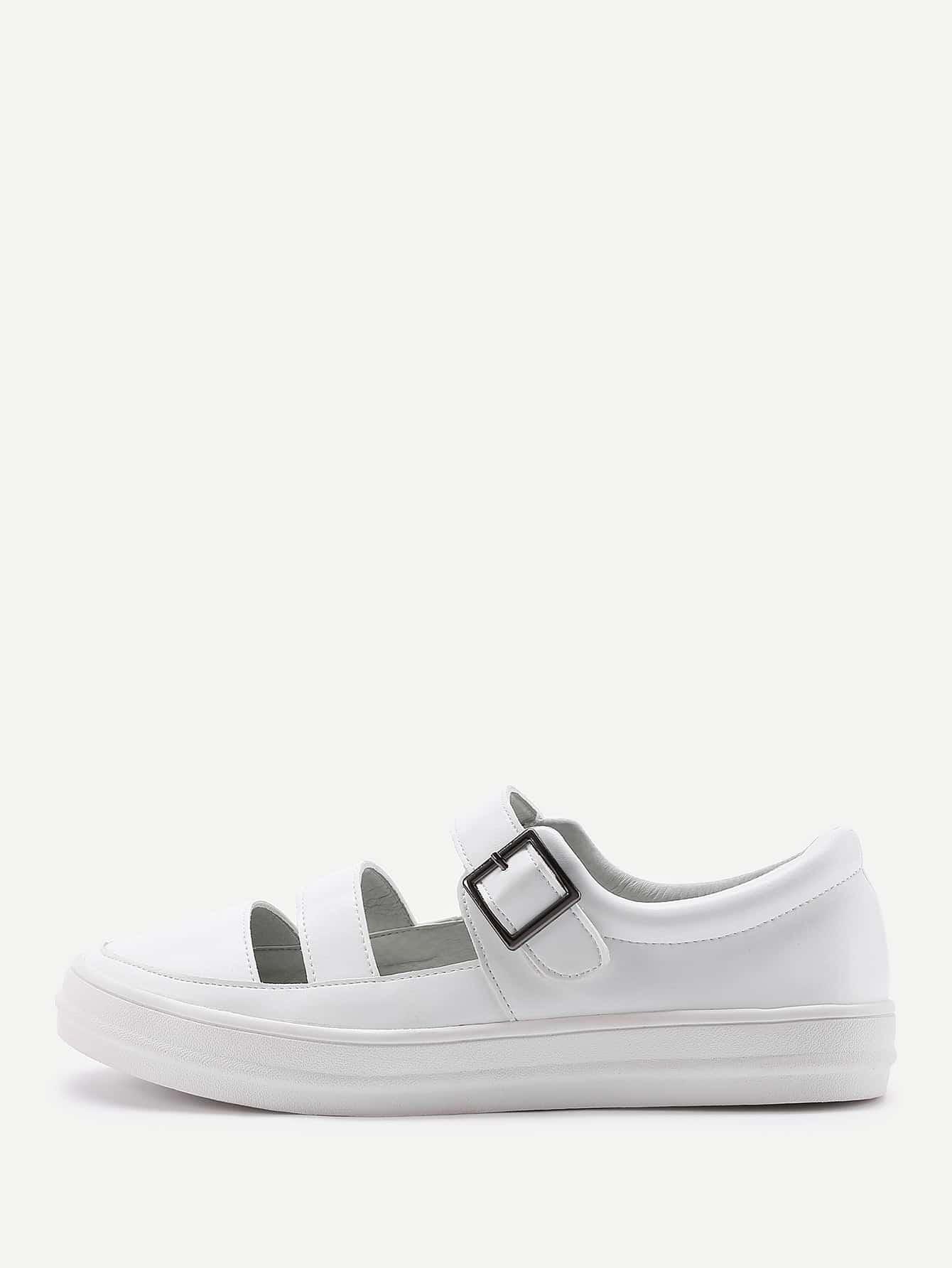 Фото Round Toe Cutout Thick-soled Shoes. Купить с доставкой