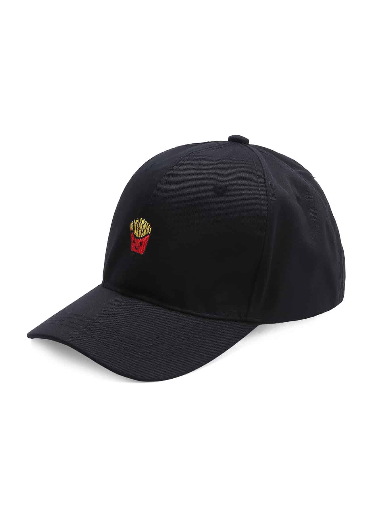 French Fries Embroidery Baseball Hat