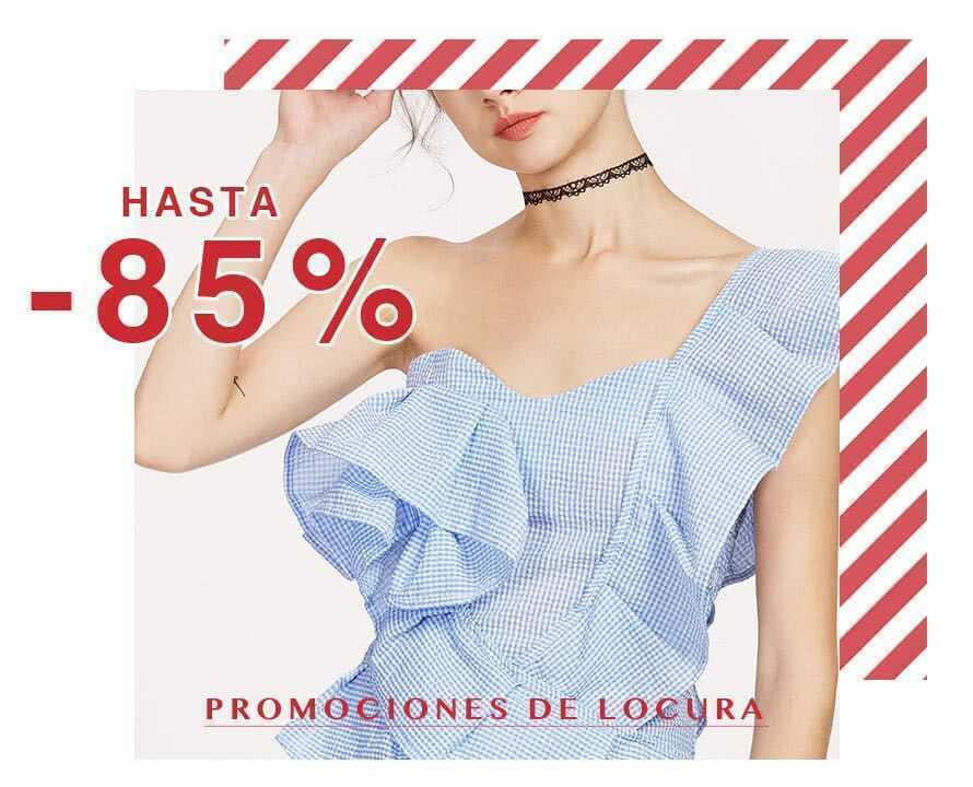 Promociones de locura | Hasta -85%