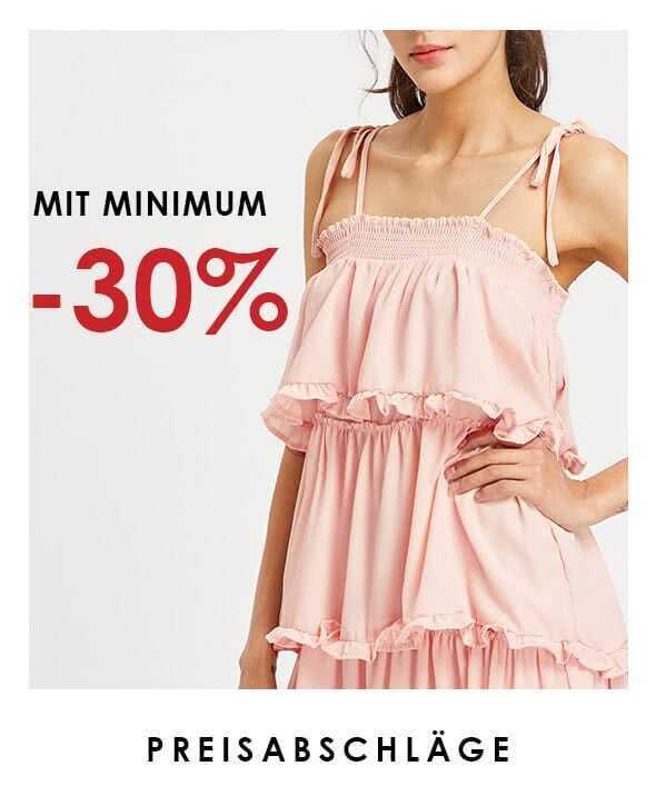 Preisabschläge mit minimum -30%