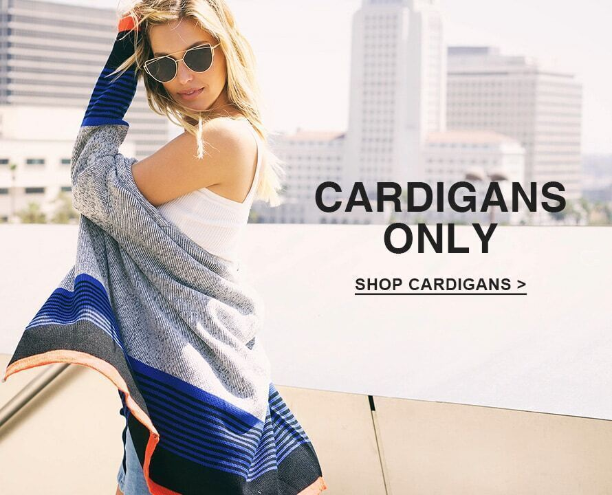 CARDIGANS ONLY