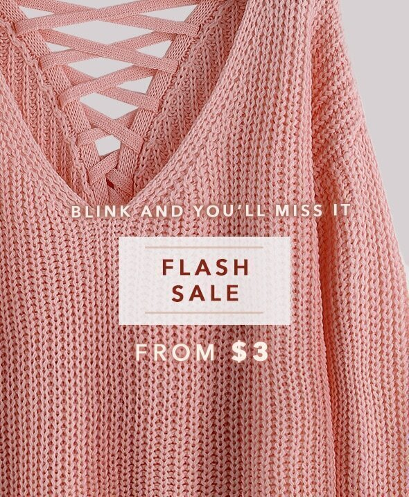 Flash Sale from $3