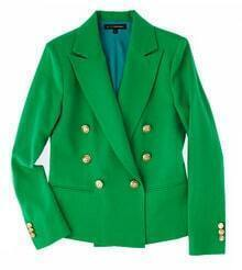 100% Wool Green Suit