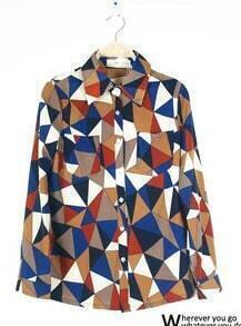 Irregular Geometry Shirt