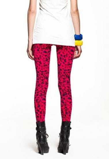 Modern Red Dot Leggings