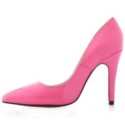 Decoltissimo Pointed Toe Pumps Pink