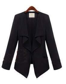 Gossip Girl Solid Black Suit