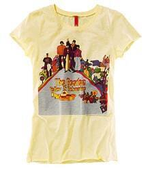 The Beatles Yellow Submarine Short-sleeved Cotton T-shirt