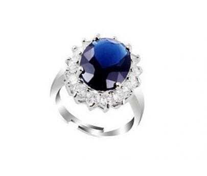 Kate Middleton's Royal Wedding Ring Blue Gemstone