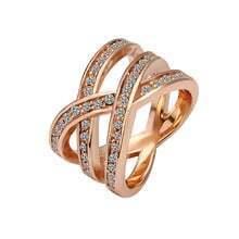 Diamond Knot Gilded Ring
