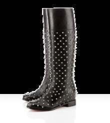 Pigalle Spikes studded leather Meneboots