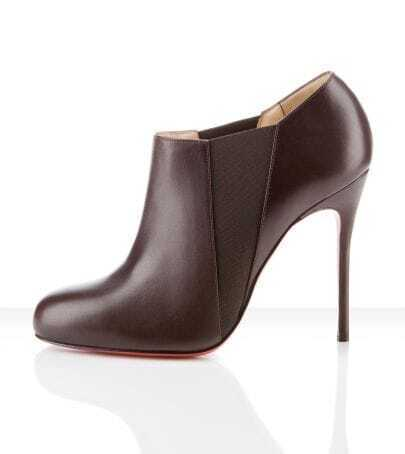 Lastoto 100mm Ankle Boots Cacao brown