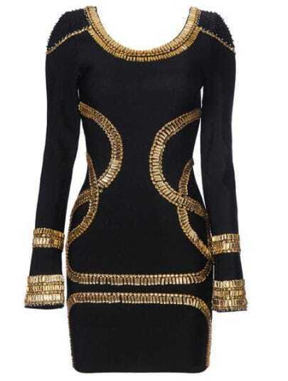 Sass Bide Embellished Jersey Mini Dress H02H