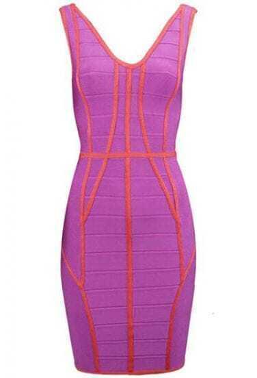 Bustier Bandage Dress H172P
