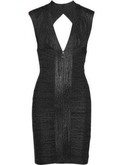 Printed Bandage Dress H194H