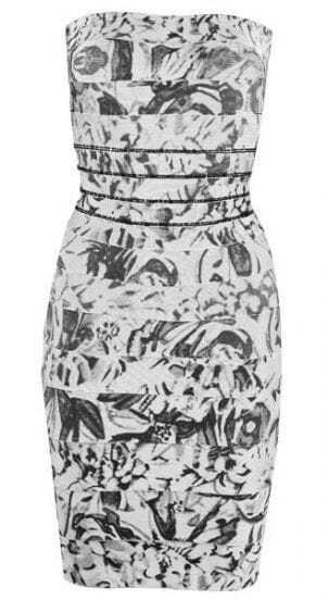 Floral-Print Bandage Dress H226W