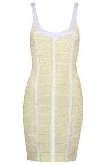 Lily Bandage Applique Dress H231Y