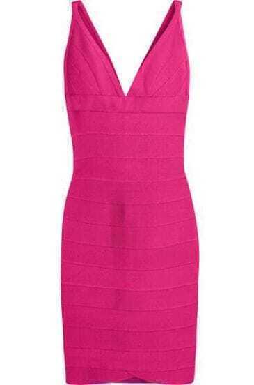 Pink Scoopneck Tank Dress H022R9