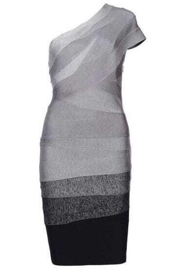 Gisele Asymmetric Dress H051W